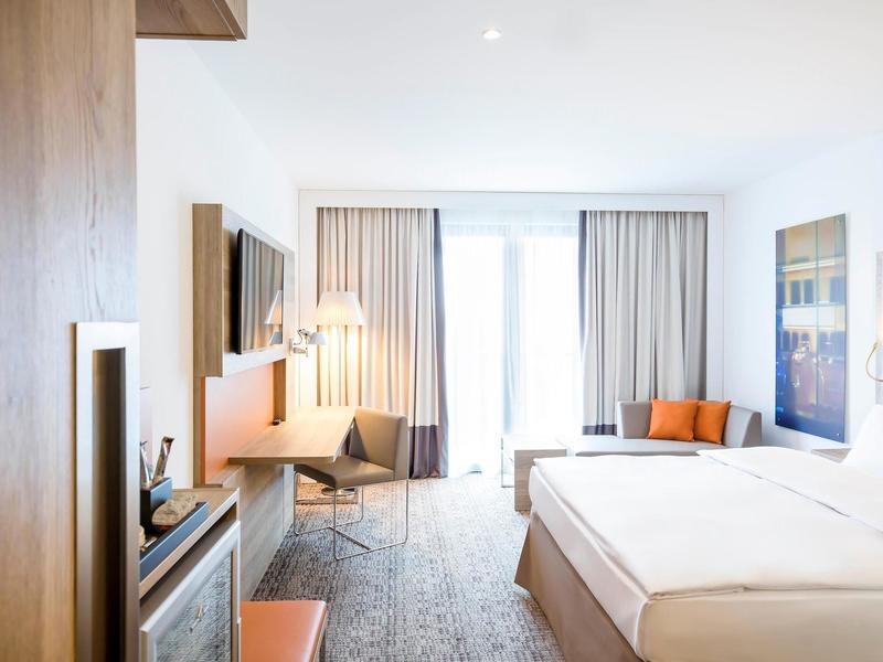 Hotelzimmer im Novotel Nuernberg Centre Ville günstig bei weg.de