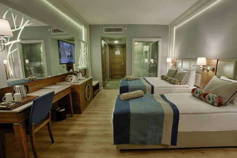 Hotelzimmer mit Golf im Sensitive Premium Resort