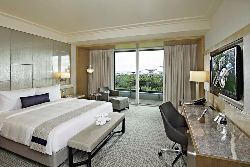 Hotelzimmer mit Aerobic im Marina Bay Sands Singapore