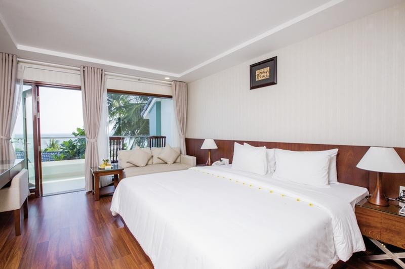 Hotelzimmer mit Tennis im Hoang Ngoc Resort