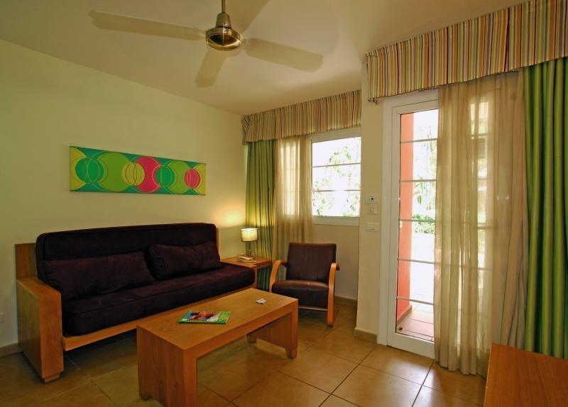 Hotelzimmer mit Golf im Bungalows Cordial Green Golf