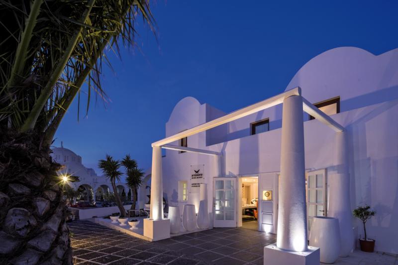 Aressana Spa Hotel and Suites in Santorin - Bild von FTI Touristik