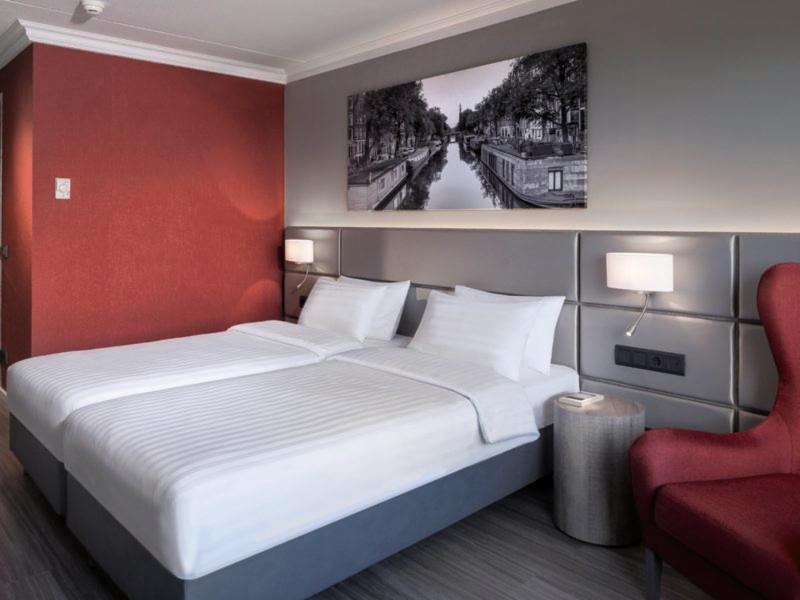 Hotelzimmer mit Fitness im Ramada Amsterdam Airport Schiphol