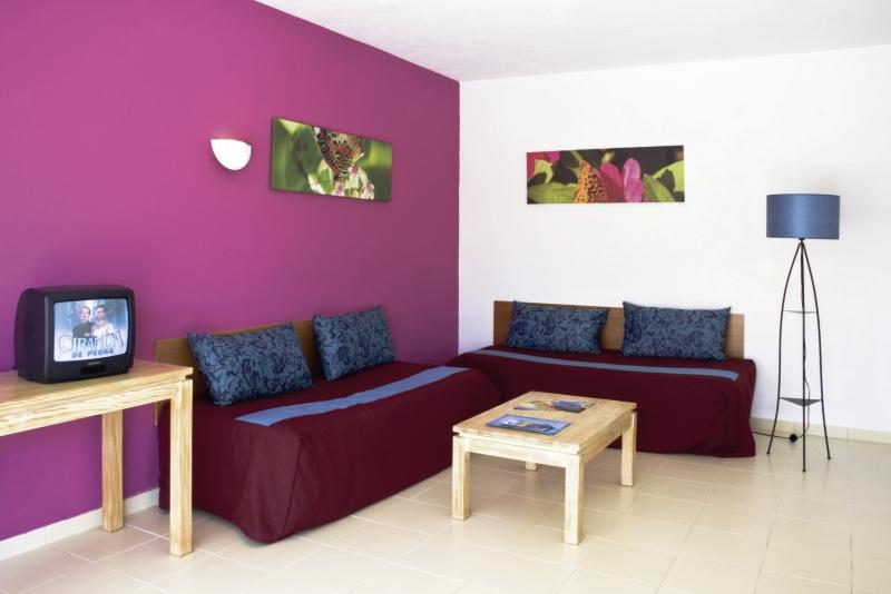 Hotelzimmer mit Tischtennis im Natura Algarve Club