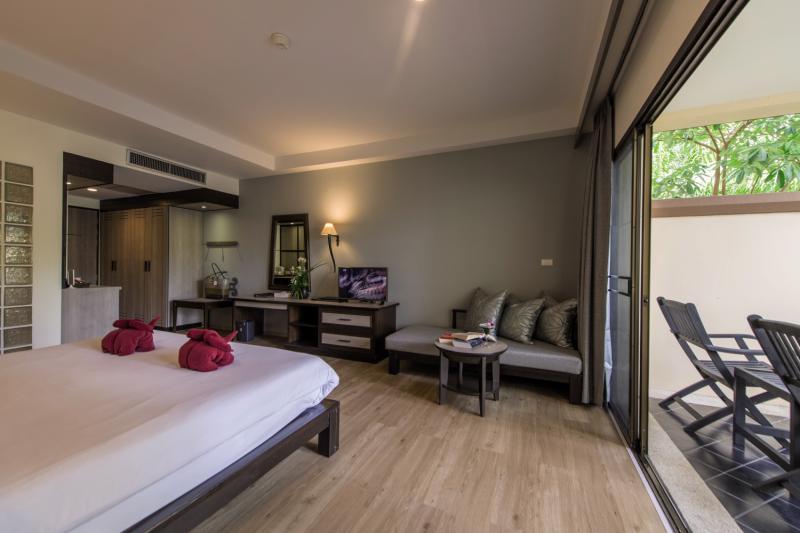 Hotelzimmer mit Fitness im Krabi La Playa Resort