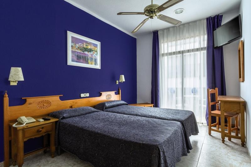Hotelzimmer mit Fitness im Neptuno Hotel & Apartments