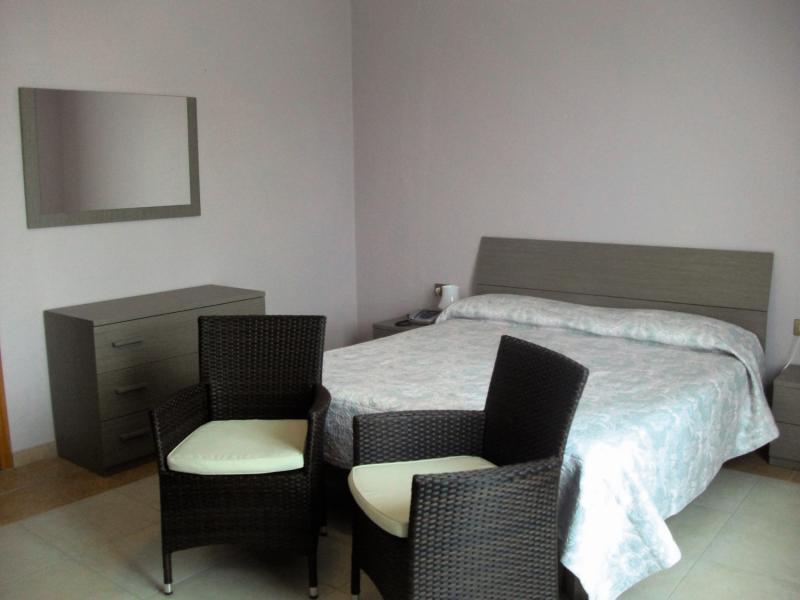 Hotelzimmer mit Minigolf im Breglia
