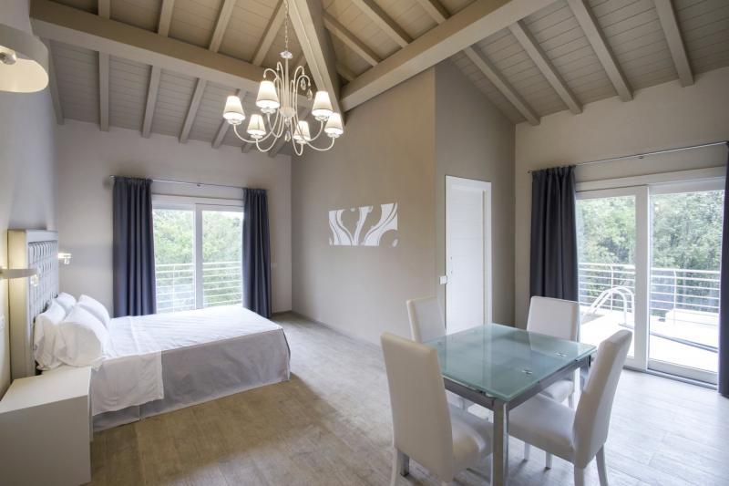 Hotelzimmer mit Spielplatz im Relais I Piastroni