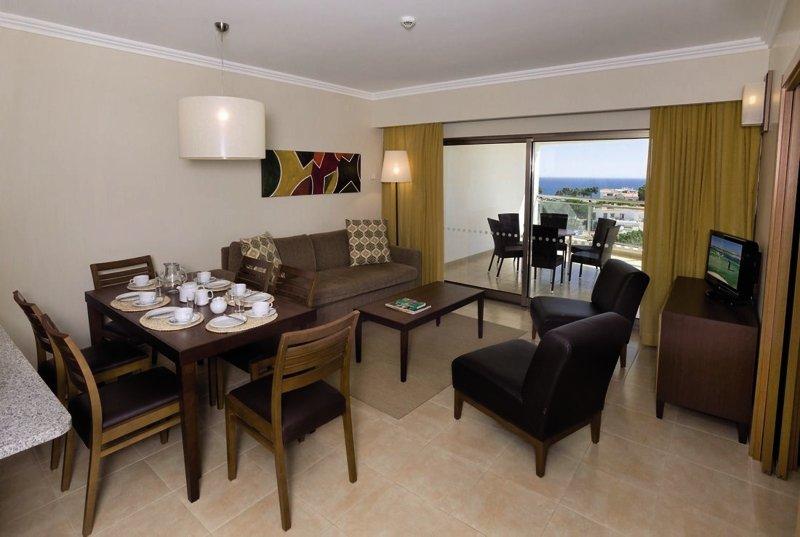 Hotelzimmer mit Fitness im Alfagar Aparthotel