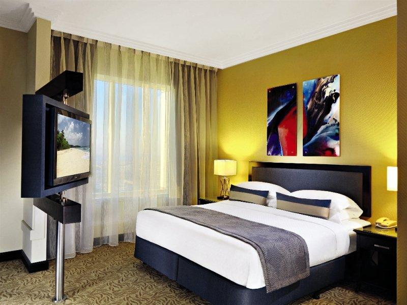 Hotelzimmer mit Fitness im Towers Rotana
