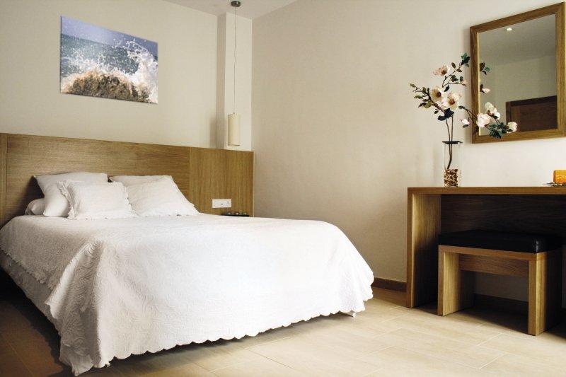 Hotelzimmer mit Tennis im Al Sur Apartamentos