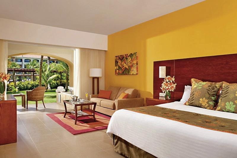 Hotelzimmer mit Golf im Now Larimar Punta Cana