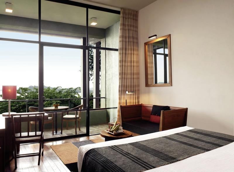 Hotelzimmer mit Fitness im Heritance Kandalama