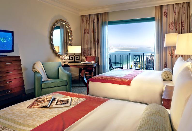 Hotelzimmer mit Volleyball im Atlantis The Palm