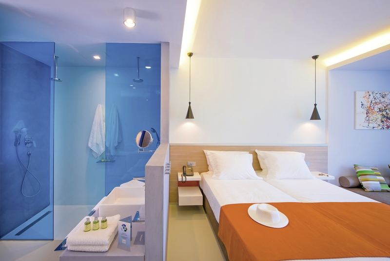 Hotelzimmer mit Fitness im Corissia Harmony Hotel