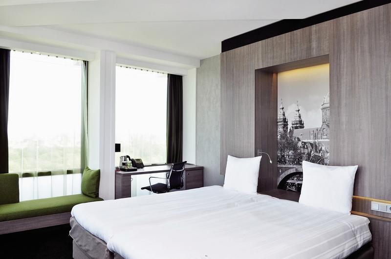 Hotelzimmer mit Aerobic im Ramada Apollo Amsterdam Centre