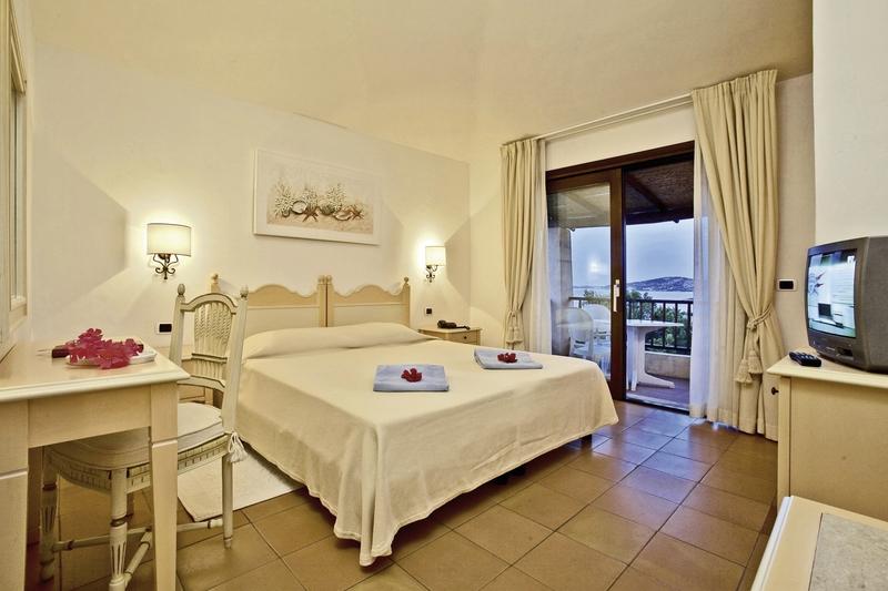 Hotelzimmer mit Golf im Hotel Stelle Marine