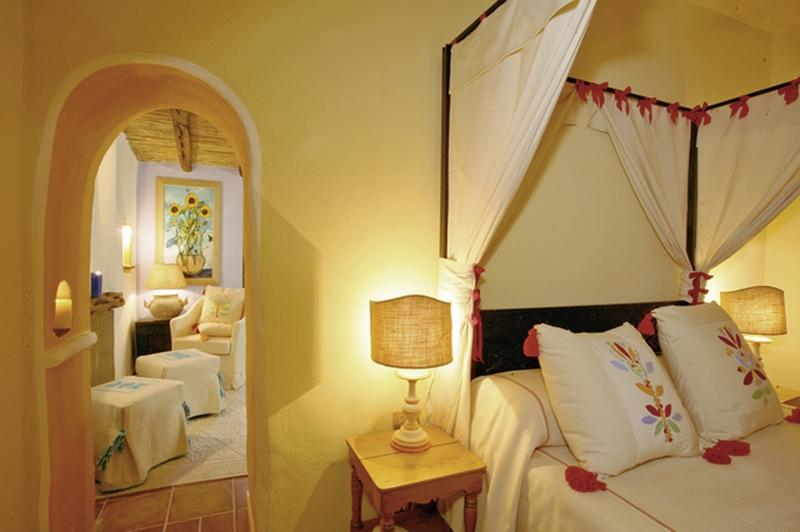Hotelzimmer mit Minigolf im Su Gologone Experience Hotel