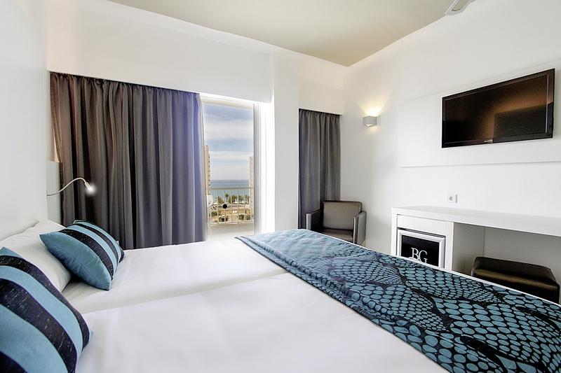 Hotelzimmer mit Golf im Hotel Caballero
