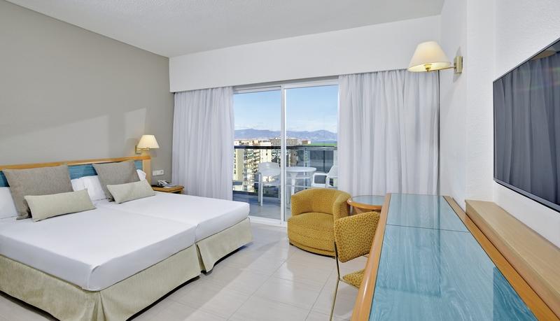 Hotelzimmer mit Volleyball im Sol Príncipe
