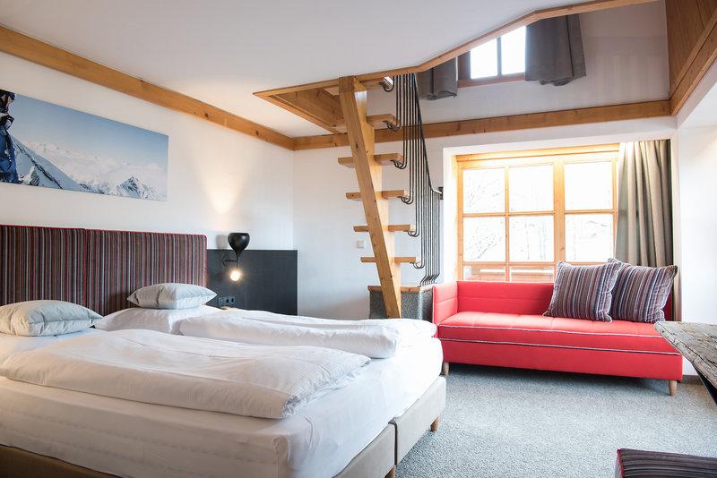 Hotelzimmer mit Fitness im Falkenstein Sporthotel