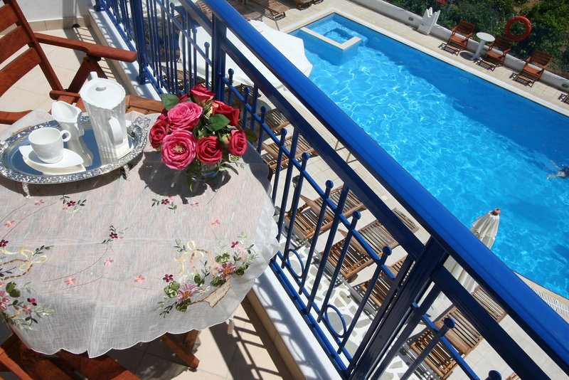 Hotelzimmer mit Pool im Katherina