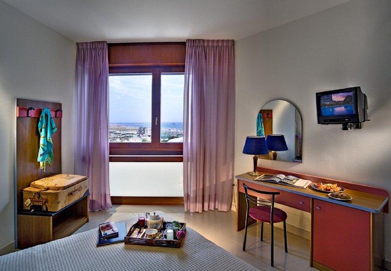 Hotelzimmer mit Yoga im Hotel Le Tegnùe