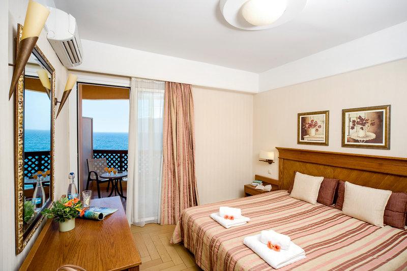 Hotelzimmer mit Paddeln im Ideon