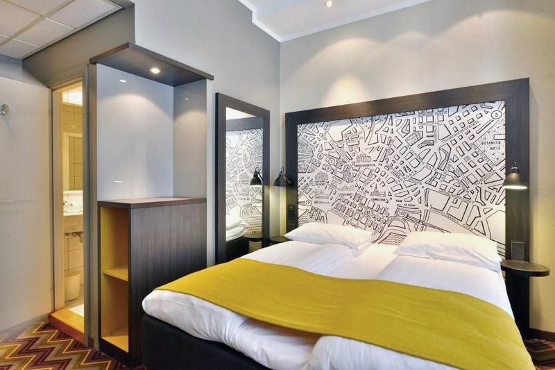 Hotelzimmer mit Clubs im Scandic Oslo City