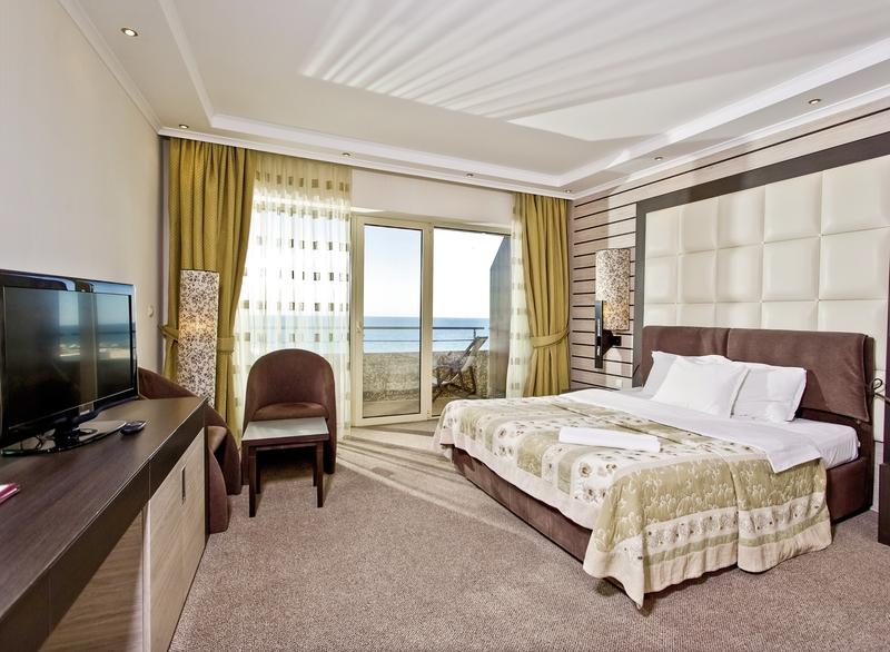 Hotelzimmer mit Minigolf im Grand Hotel Pomorie