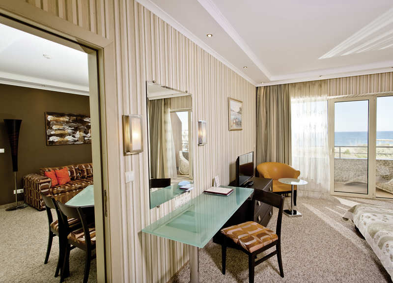 Hotelzimmer mit Fitness im Grand Hotel Pomorie