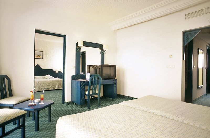 Hotelzimmer mit Yoga im lti Mahdia Beach & Aqua Park