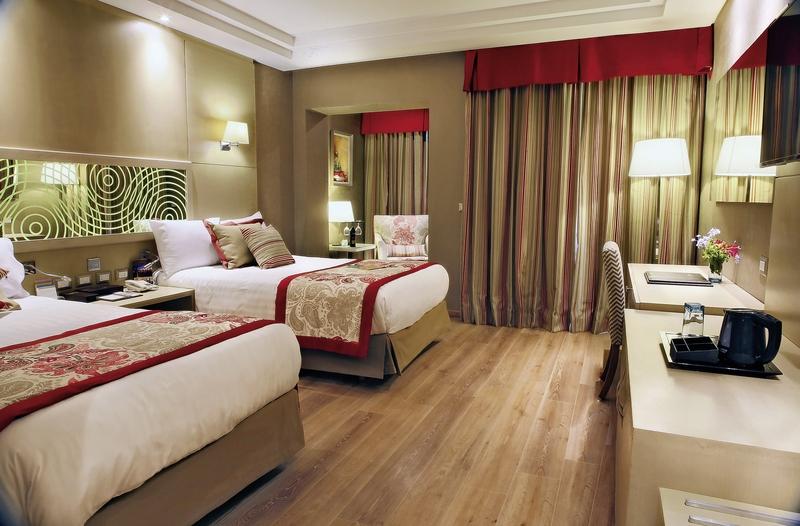 Hotelzimmer mit Volleyball im Rixos Seagate Sharm
