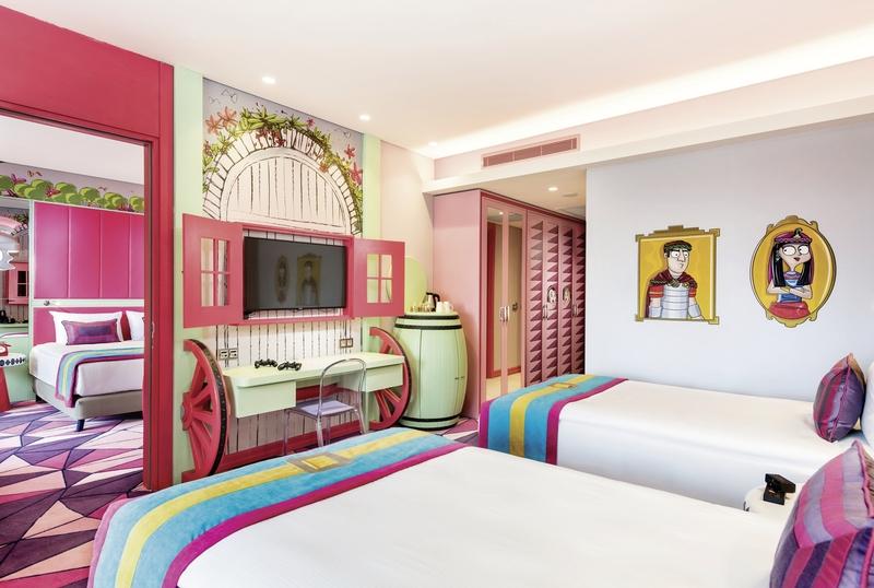 Hotelzimmer mit Tischtennis im The Land of Legends Kingdom Hotel