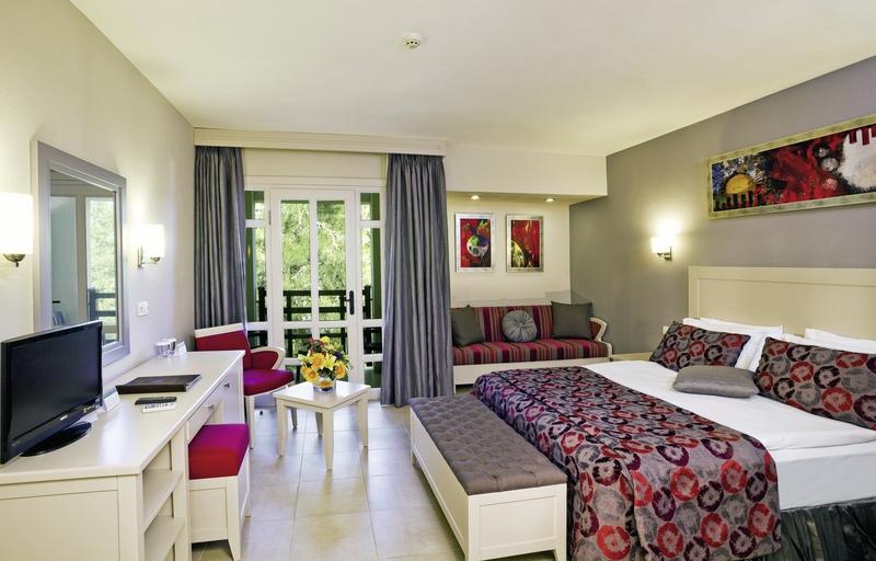 Hotelzimmer mit Golf im Club Asteria Belek