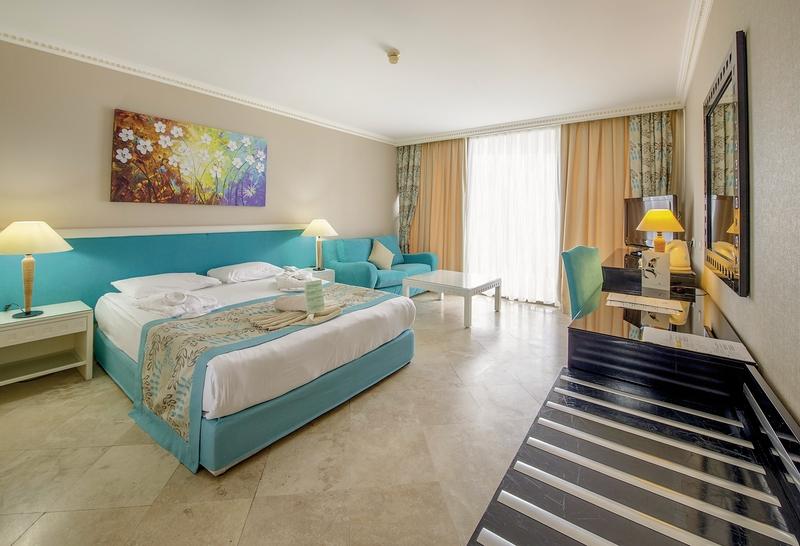 Hotelzimmer mit Yoga im Crystal Sunrise Queen Luxury Resort & Spa