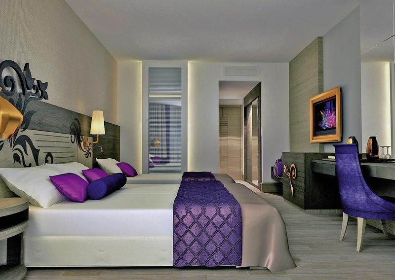 Hotelzimmer mit Yoga im Kirman Hotels Belazur Resort & SPA
