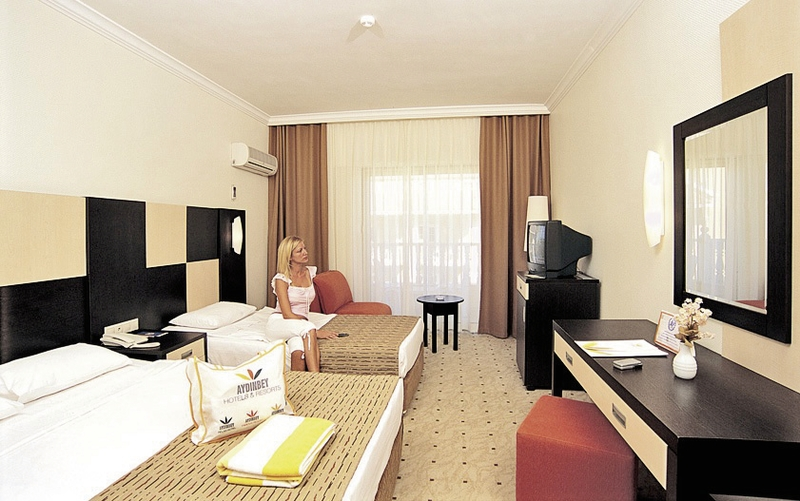 Hotelzimmer mit Fitness im Aydinbey Famous Resort