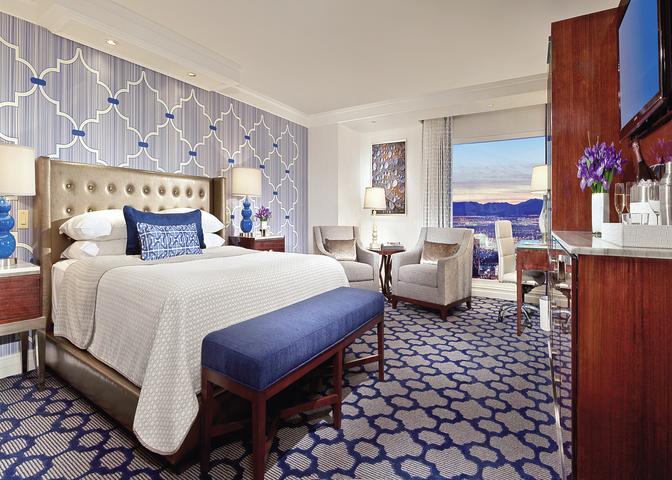 Hotelzimmer mit Yoga im Bellagio Las Vegas