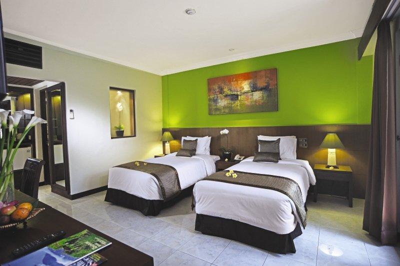 Hotelzimmer mit Tennis im Risata Bali Resort & Spa