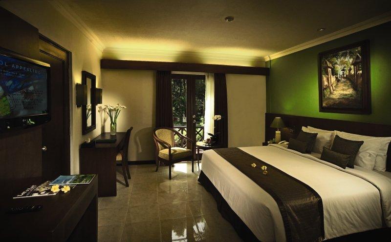 Hotelzimmer mit Tischtennis im Risata Bali Resort & Spa