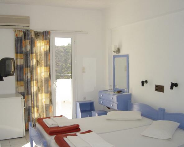 Hotelzimmer mit Sandstrand im Petra