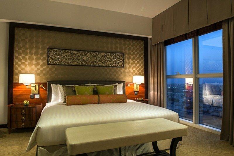Hotelzimmer mit Fitness im Dusit Thani Dubai