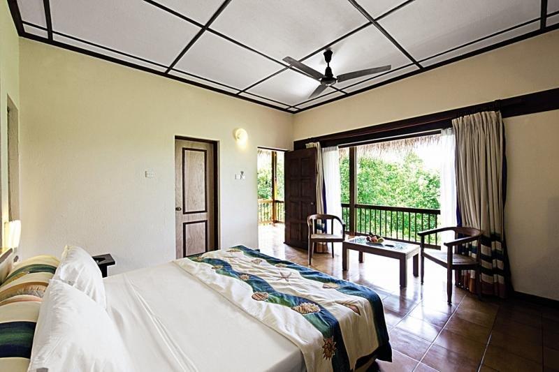 Hotelzimmer mit Fitness im Adaaran Club Rannalhi