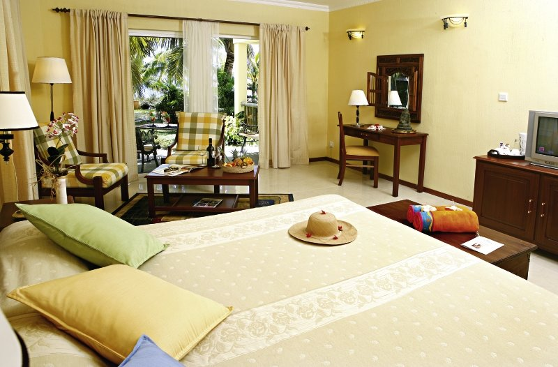 Hotelzimmer mit Mountainbike im Hibiscus Beach Resort & Spa