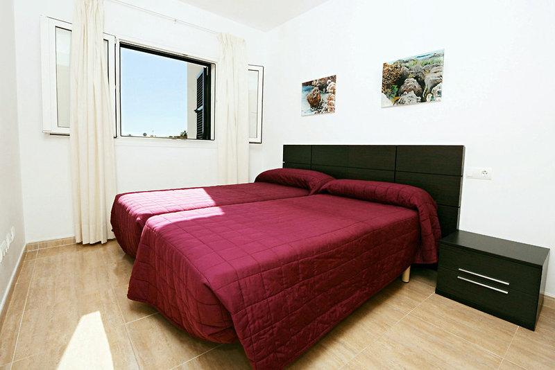 Hotelzimmer mit Fitness im Apartamentos Playa Ferrera