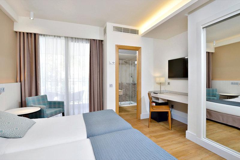 Hotelzimmer mit Tennis im Sol Don Pedro