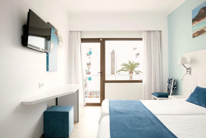Hotelzimmer mit Tennis im smartline Anba Romani