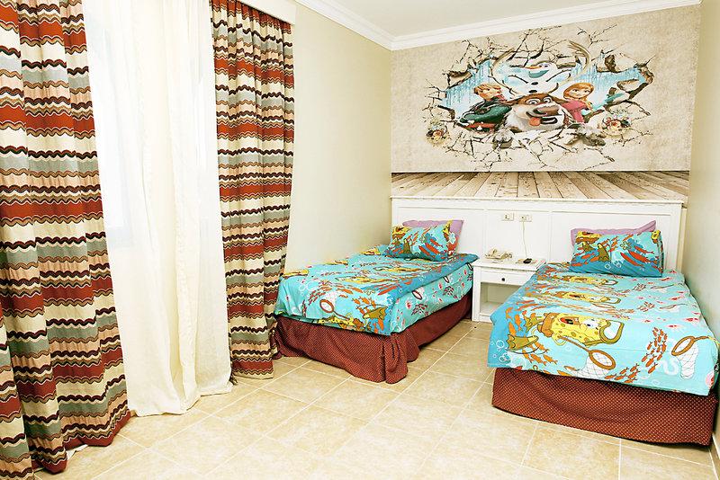 Hotelzimmer mit Volleyball im SUNRISE Select Garden Beach Resort
