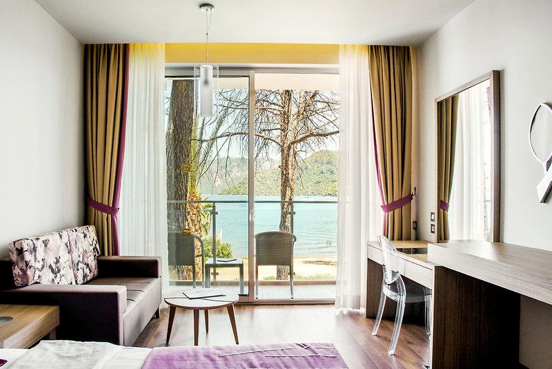 Hotelzimmer mit Yoga im SENTIDO Orka Lotus Beach